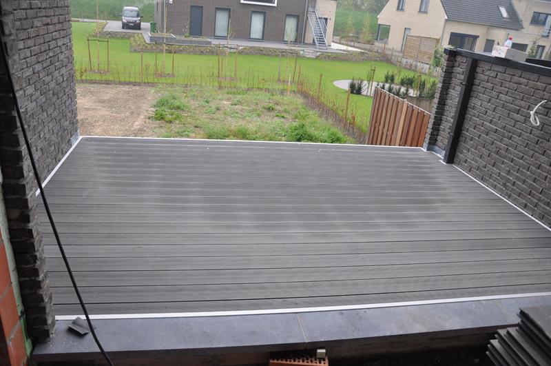 Hcg ltd realisaties kunststof terrassen kunststof terras met twinson t - Twinson deceuninck prix ...